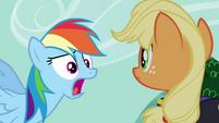 "Rainbow ""and no apples!"" S4E21"