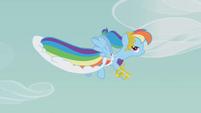 Rainbow Dash's dress S1E14