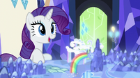 """Rarity """"perhaps there'll be some social events"""" S6E12"""