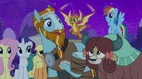 """Rockhoof """"reminds me of another story"""" S8E21"""