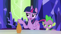 """Twilight """"the only reason you won't drink the potion"""" S5E22"""