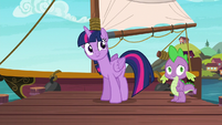 Twilight invites her friends for another boat ride S6E22