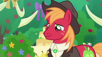 Big Mac looks lovingly at Sugar Belle S9E23