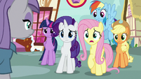 """Fluttershy """"have you seen Pinkie Pie?"""" S8E18"""