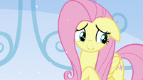Fluttershy thinking about what she has to say S6E2