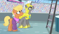 Ms. Harshwhinny and royal guard surprised S4E24