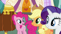 """Pinkie """"make you feel at home"""" S5E11"""