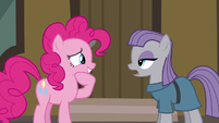 Pinkie Pie moved by Maud's words S6E3