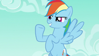 "Rainbow Dash ""how's that for effort?"" S6E15"