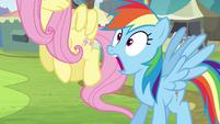 Rainbow Dash takes a deep breath S4E22