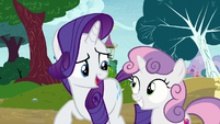 """Rarity """"this is a very long line"""" S7E6"""