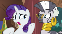 Rarity -I can't seem to hear anything!- S8E11