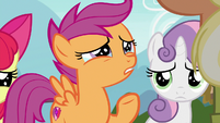 "Scootaloo ""without even asking"" S9E12"