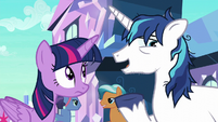 """Shining Armor """"would be great to get a break"""" S6E1"""