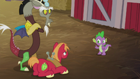 """Spike """"she can't break up with you"""" S8E10"""