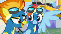 "Spitfire ""your very own mega-fans"" S7E7"