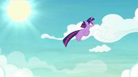 Twilight Sparkle following Rainbow S8E20