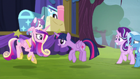 "Twilight and Cadance ""sunshine, sunshine"" S8E19"