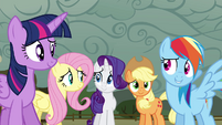 "Twilight and friends ""we noticed"" S4E18"