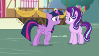 Twilight nervous over Ember's approach S7E15