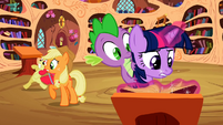 Twilight searching for an explanation to Apple Bloom's affliction S2E06