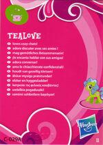 Wave 2 Tealove collector card back