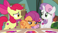 Apple Bloom and Sweetie Belle concerned S9E12
