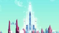 Crystal Empire palace faraway shot S03E11