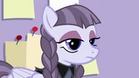 Inky Rose with an intense gaze S7E9