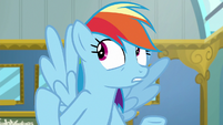 "Rainbow Dash ""considering everypony here"" S6E24"