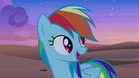 """Rainbow Dash """"maybe they can help us"""" S7E18"""