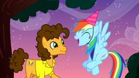"Rainbow Dash ""yeah it is!"" S4E12"