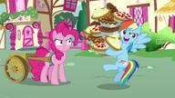 S07E23 Rainbow zwraca uwagę źrebaków