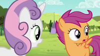 Scootaloo -Guess she changed her mind- S5E17