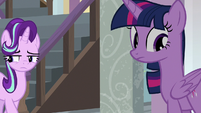 Starlight backing away from Twilight S8E12