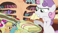 """Sweetie Belle commands broom to """"rise!"""" S4E15"""