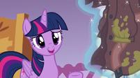 Twilight Sparkle --I don't know, Rarity-- S6E22