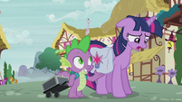 Twilight worried about Starlight Glimmer S5E25