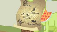 خريطة بونيفيل وكلاودز ديل وكانترلوت وغابة افرفري الخاصة بغراني سميث