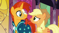 """Applejack """"none of them were ever heard from again?"""" S7E25"""
