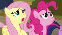 """Fluttershy """"Sombra's gonna force us"""" S9E2"""