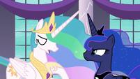 "Princess Celestia ""I can barely see straight!"" S7E10"