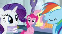 "Rainbow ""report to Wonderbolts headquarters"" S6E7"