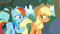 """Rainbow """"want to keep going in a circle"""" S8E9"""