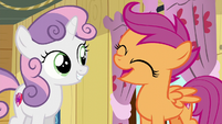 "Scootaloo ""we are so awesome at it!"" S6E4"