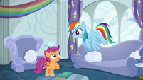 Scootaloo asks for Rainbow Dash's help S6E14