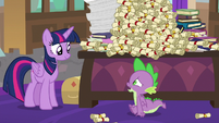 """Spike """"gonna be gone that long"""" S8E15"""