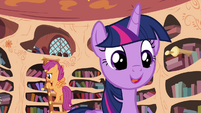 """Twilight """"to pass on my love of learning"""" S4E15"""