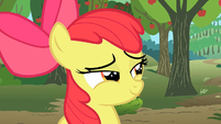 "Apple Bloom ""come back tomorrow"" S2E15"