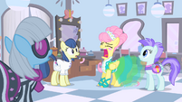 Fluttershy is about to sneeze S1E20